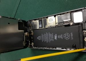 iphone5S_水没修理