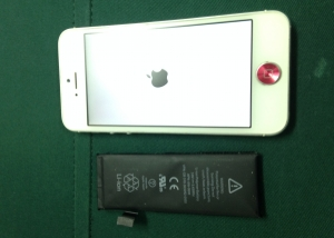 iphone修理-バッテリー交換ーiphone5