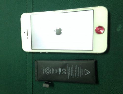iPhone 5修理 - バッテリー交換
