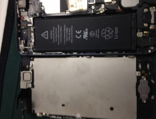 iPhone 5 修理 - 水没 / 浸水