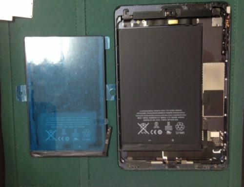 iPad mini 1 修理 - バッテリー交換