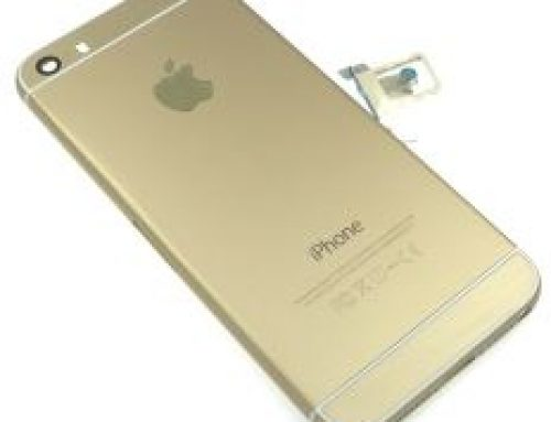 iPhone 5S カスタム - 6スタイルシャンパンゴールドフレーム