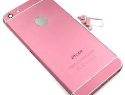 iPhone 5S カスタム - 6スタイルピンク色フレーム