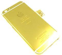 iphone 6 カスタム - ゴールドバー