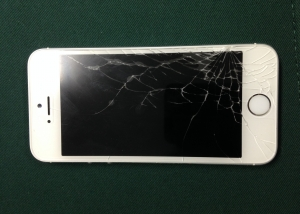iphone6 ガラス割れーガラス交換修理前