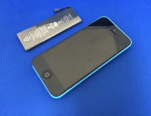 iPhone 5c バッテリー交換