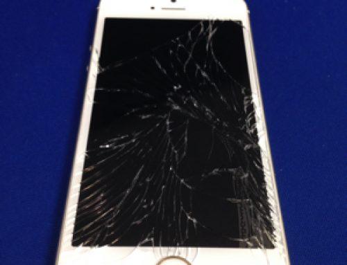 iPhone5s ガラス破損交換