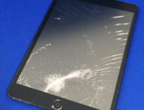 落下してガラスが割れてしまったiPad mini 1の修理