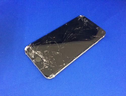 ガラスが割れてしまったiPhone6 Plusの修理