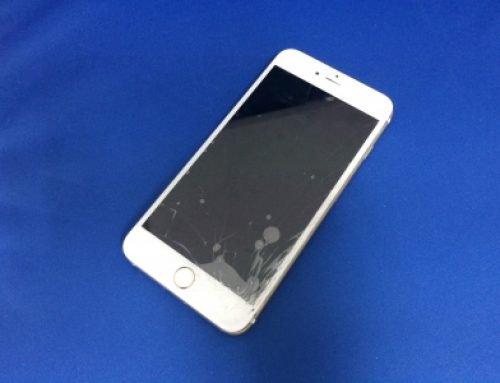 落としてしまった(落下)iPhone6 Plusのガラス修理