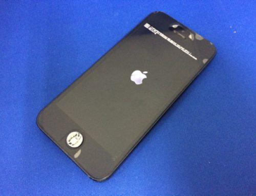 水没したiPhone5sの復旧修理