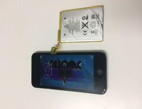 iPod touch 5世代 バッテリー交換修理