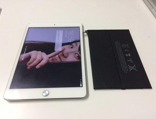 iPad mini 2 バッテリー交換