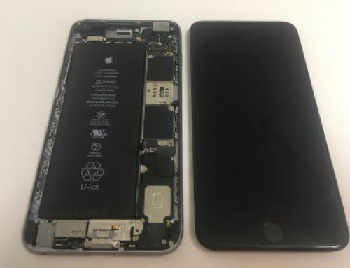 iPhone6sの基板修理ー水没後電源が入らない