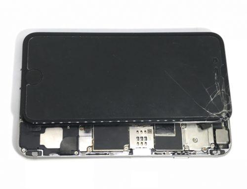 iPhone6 基板修理 - 塩気がある水に水没した
