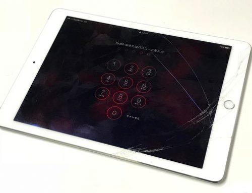 iPad Air1 ガラス交換修理 - 落下による破損