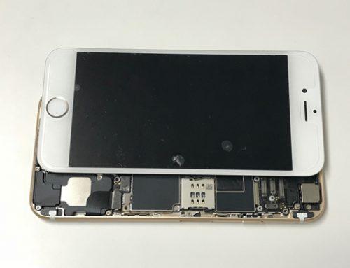 iPhone6 基板修理 - 電源は入るけど画面がつかない