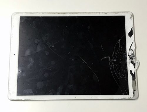 iPad pro 12.9inch ガラス破損 - ガラスが割れた