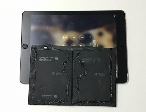 iPad Air2 バッテリー交換修理 – バッテリーの消耗が激しい。