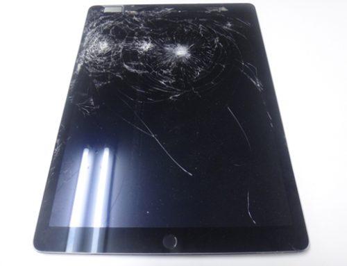 iPad Pro 12.9inch LCD交換 – iPadの上から重いものを落としてしまった