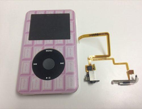iPod classic イヤホンジャック交換修理 – イヤホンの片方しか聞こえなくなった。