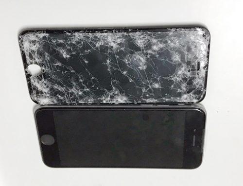 iPhone7 フロントパネル交換修理 – スマホ紛失後、戻ったときには割れていた。