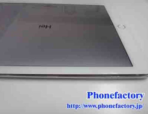 iPad Air 2 – 画面が浮いてきている
