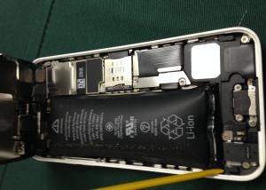 iphone修理- 5C バッテリー交換