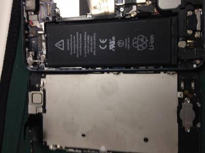 iphone5修理_水没