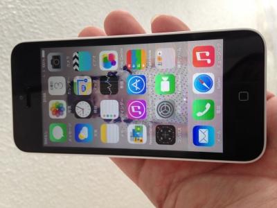 iphone5C修理ー復元モードー修理後