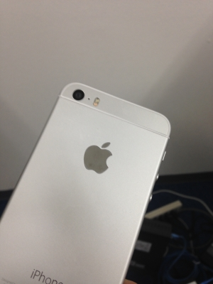 iPhone 5S カスタム - 6スタイルシルバー色フレーム