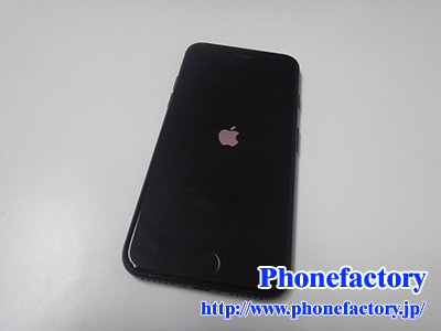 iPhone7 起動不可修理 – 急に電源が落ちリンゴループになってしまった