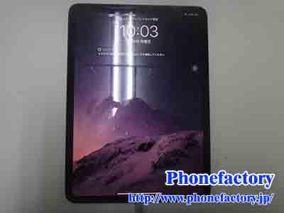 iPad Pro 11inch – 急に電源が入らなくなった